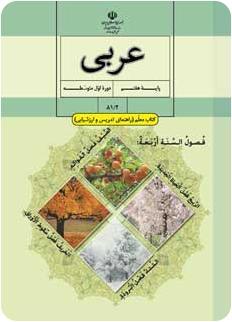 دانلود رایگان کتاب راهنمای معلم عربی پایه هفتم